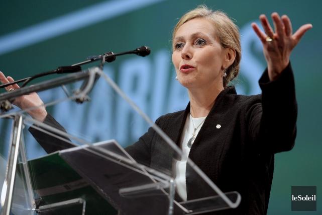 Monique Leroux, PDG du Mouvement Desjardins.... (Le Soleil, Erick Labbé)