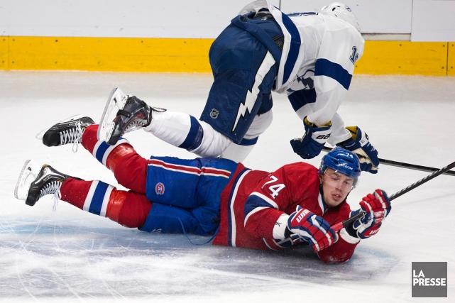 Alexei Emelin a retrouvé son aplomb après quelques... (Photo Robert Skinner, La Presse)