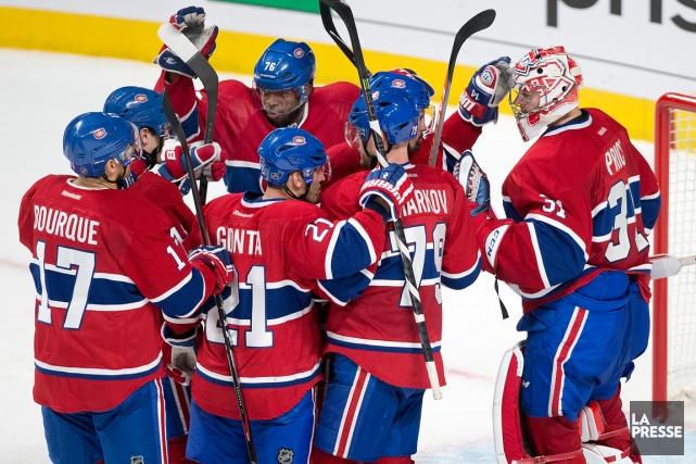 Il manque un gain au Canadien pour compléter... (Photo Robert Skinner, La Presse)
