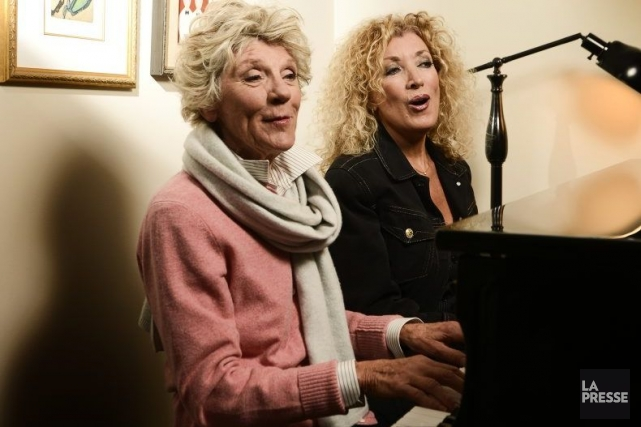 Clémence DesRochers et Marie Michèle Desrosiers en seront... (Photo: Bernard Brault, La Presse)