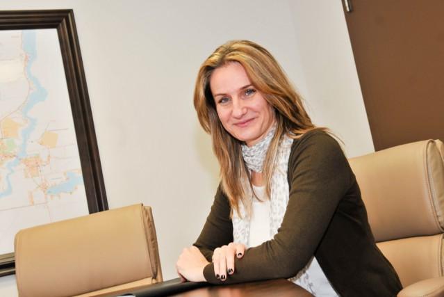 Valérie Lalbin, directrice générale de l'Office de tourisme,...
