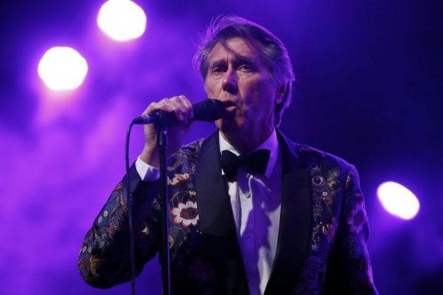 Bryan Ferry en spectacle au festival Coachella le... (Photo: archives Reuters)