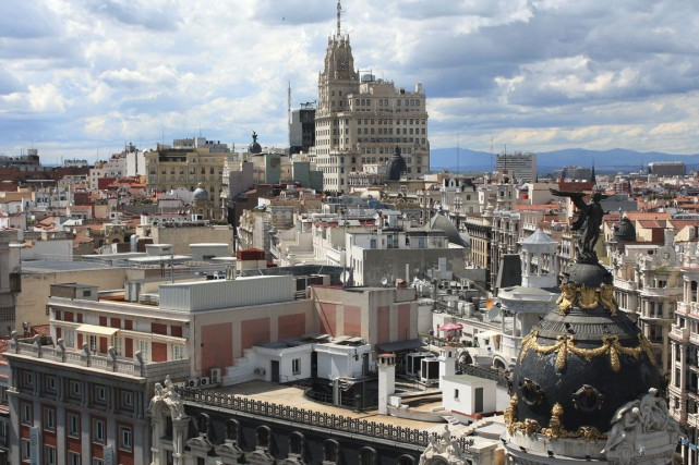 Madrid, en Espagne.... (Photo Digital/Thinkstock)