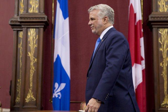 Le premier minsitre du Québec, Philippe Couillard... (Photo Jacques Boissinot, PC)