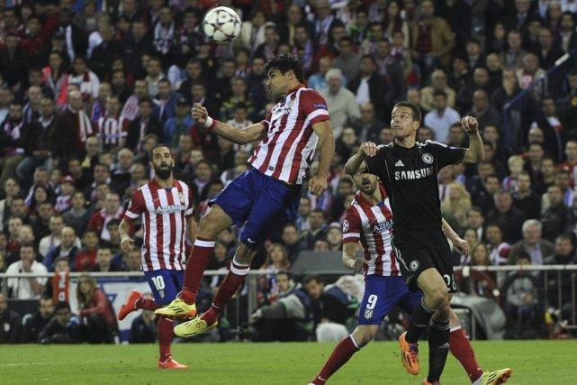 L'Atletico, meilleure défense d'Espagne, s'est heurté mardi contre Chelsea à... (Photo: AFP)