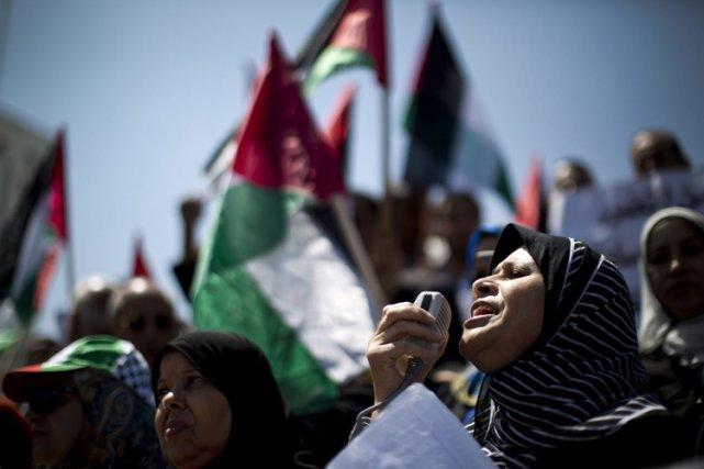 Le Fatah, le principal parti de l'OLP, et... (Photo: AFP)