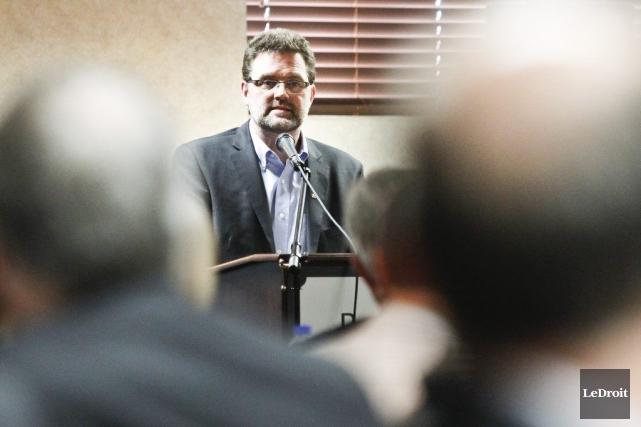 Le parti du maire Maxime Pedneaud-Jobin avait annoncé,... (Patrick Woodbury, Archives LeDroit)