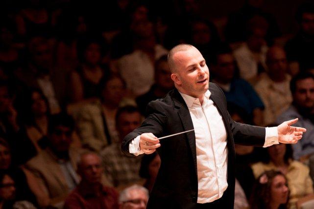 Yannick Nézet-Séguin susciterait de l'intérêt au Japon et... (Photo: fournie par l'Orchestre Métropolitain)