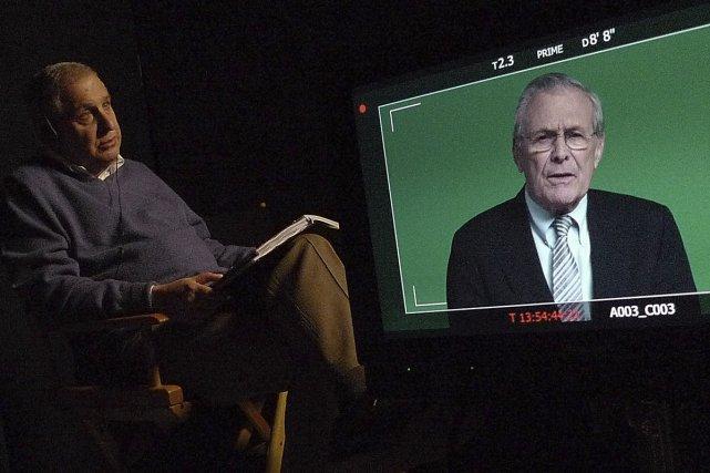 Dans le film The Unknown Known, le documentariste... (Photo: fournie par la production)