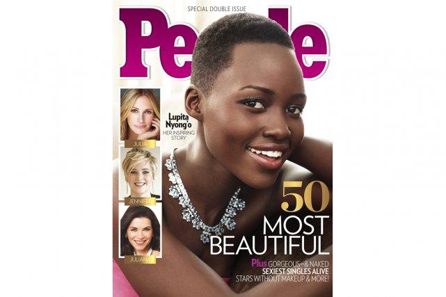 La liste annuelle des plus belles femmes du monde selon le magazine américain... (Photo: AP)