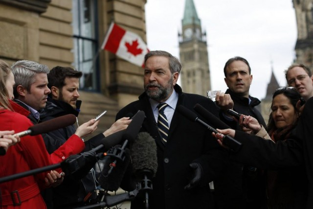 Thomas Mulcair... (Photo Reuters)