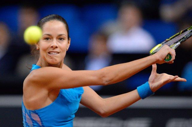Ana Ivanovic... (Photo Daniel Maurer, AFP)
