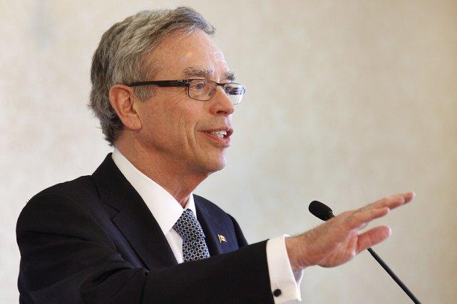 Le ministre fédéral des Finances, Joe Oliver... (Photo Darren Pittman, PC)