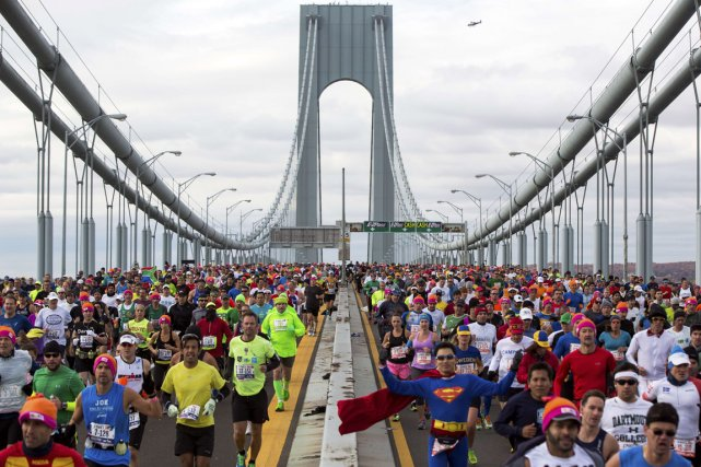 S'engager à faire une course à l'autre bout... (Photo Archives Reuters)