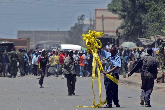 Au moins six personnes avaient été tuées le... (Archives AFP)