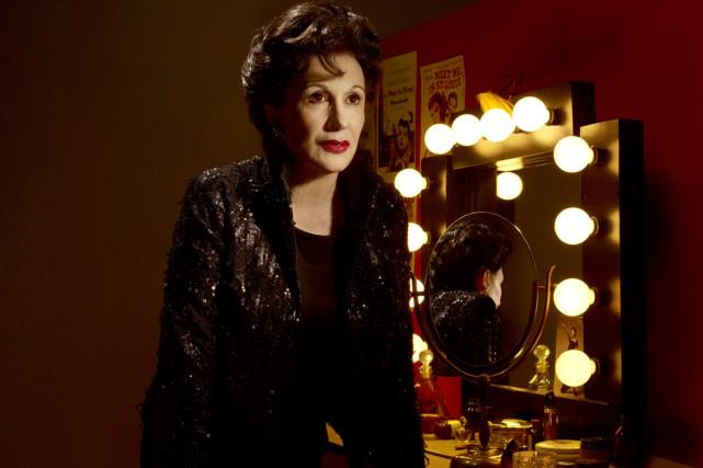 L'excellente Linda Sorgini incarne la star déchue Judy... (Photo: founrie par la Compagnie Jean Duceppe)
