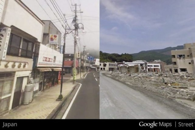 Les exemples de cettenouvelle fonctionnalitémontrent notamment des régions... (Photo Google/AP)
