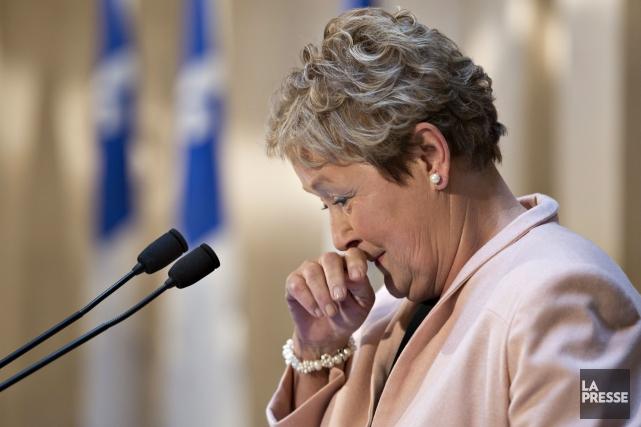 Pauline Marois... (Archives La Presse Canadienne)