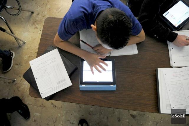 L'iPad a redonné le goût à la lecture... (Photothèque Le Soleil)