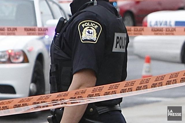 La police cherche à connaître la raison pour laquelle des coups de feu ont été... (Photo archives La Presse)