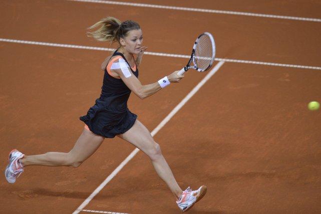 Agnieszka Radwanska... (Photo Thomas Kienzle, AFP)