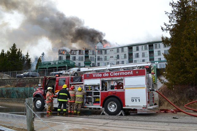 Petit manoir du casino charlevoix feu