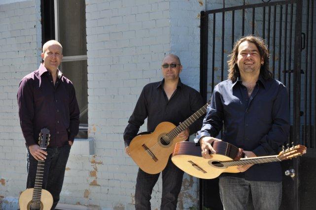 Le Montréal Guitar Trio présenteront les pièces de... (Photo: Annie Doyle, fournie par la salle Bourgie)