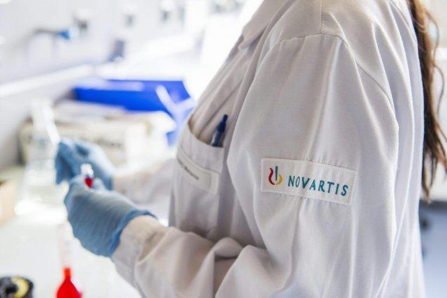 Le chiffre d'affaires trimestriel de Novartis a progressé... (Photo Yannick Bailly, Keystone/AP)