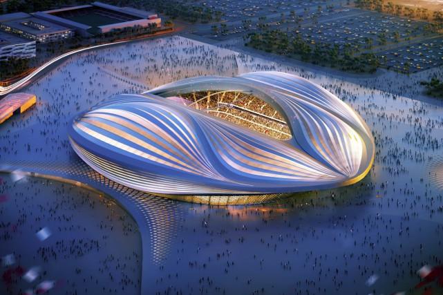 Une illustration d'un des stades qui sera construit... (Photo archives AFP)