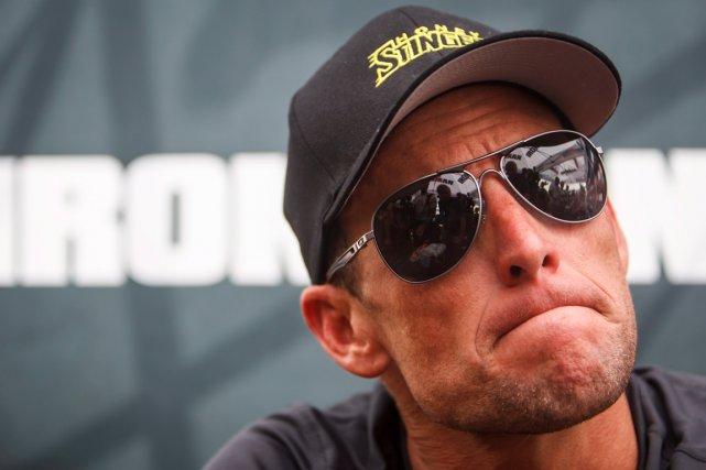 Lance Armstrong a estimé que les organisateurs du... (Photo archives AP)