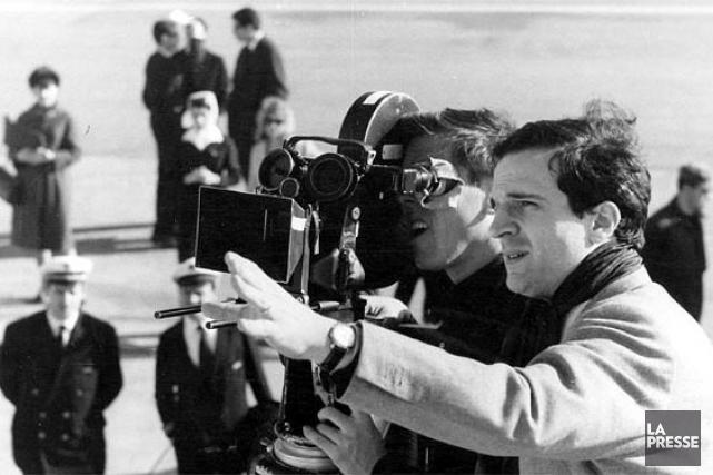 Le réalisateur François Truffaut... (Photo: archives La Presse)