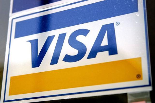Le bénéfice de Visa a bondi de 26 % au deuxième trimestre par rapport à l'an... (Photo Archives Bloomberg News)