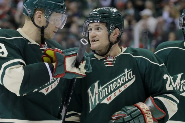Matt Cooke, à droite.... (Photo AP)