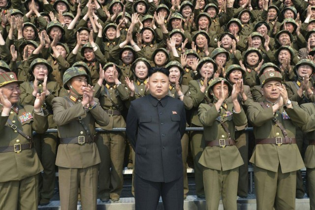 La Corée du Nord a procédé à trois... (Photo archives AFP)