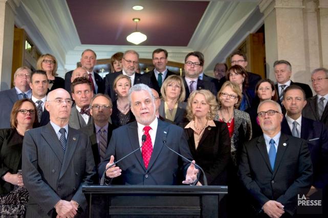 Comme tous les conseils des ministres, celui du... (La Presse Canadienne)