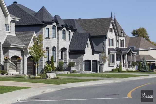 Une étude de JLR Recherche immobilière révèle que... (PHOTO EDOUARD PLANTE-FRÉCHETTE, archives LA PRESSE)