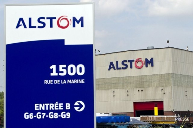 «Alstom est le symbole de notre puissance industrielle... (PHOTO HUGO-SÉBASTIEN AUBERT, ARCHIVES LA PRESSE)