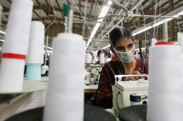 Un an après la mort de 1200 travailleurs... (Photo Tomohiro Ohsumi, Bloomberg)