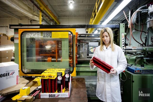 C'est l'entreprise Innovaplast, de Terrebonne, qui fabrique l'outil... (Photo Marco Campanozzi, La Presse)