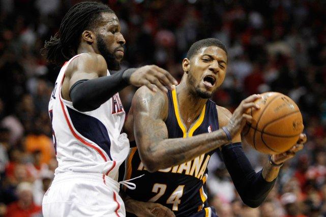 Les Pacers de l'Indiana se sont inclinés 98-85... (Photo Brett Davis, USA Today)