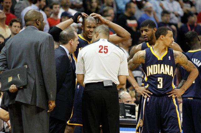 Après un départ spectaculaire (40-11), les Pacers de... (Photo Brett Davis, USA Today)