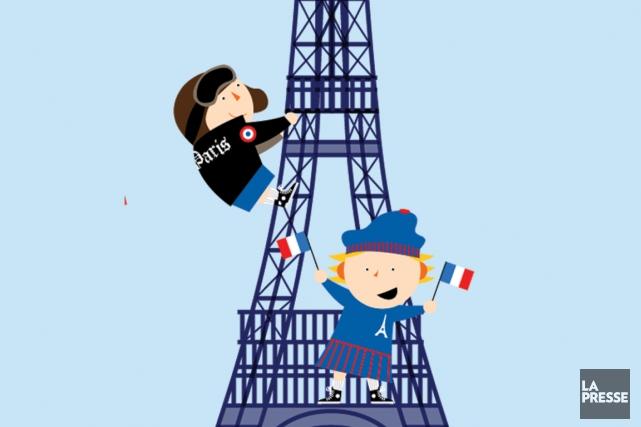 Paris en amoureux, Cuba avec les enfants. Avant de planifier leurs vacances,... (Illustration Julien Chung, La Presse)