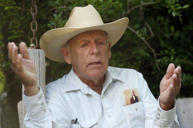 Cliven Bundy a tenu despropos controversés sur les... (PHOTO JIM URQUHART, REUTERS)