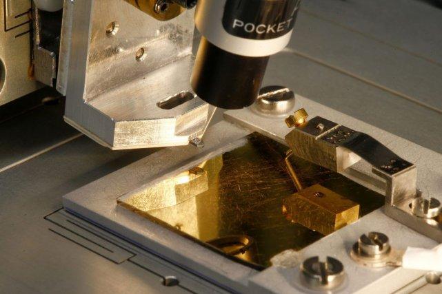 La technologie brevetée par IBM et produite par... (PHOTO ARND WIEGMANN, REUTERS)