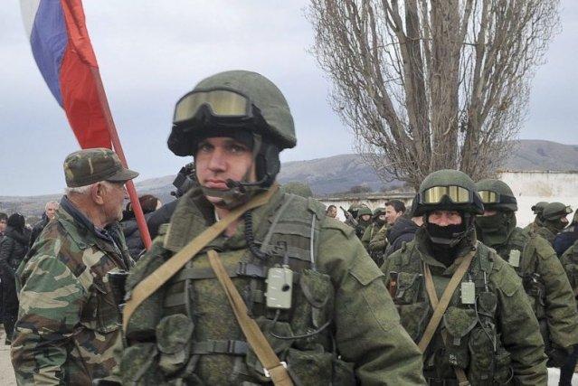 La Russie, accusée par Kiev et les Occidentaux... (Photo AFP)