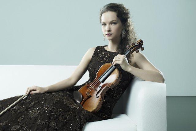 La violoniste américaine Hilary Hahn.... (Photo fournie par Olaf Heine)