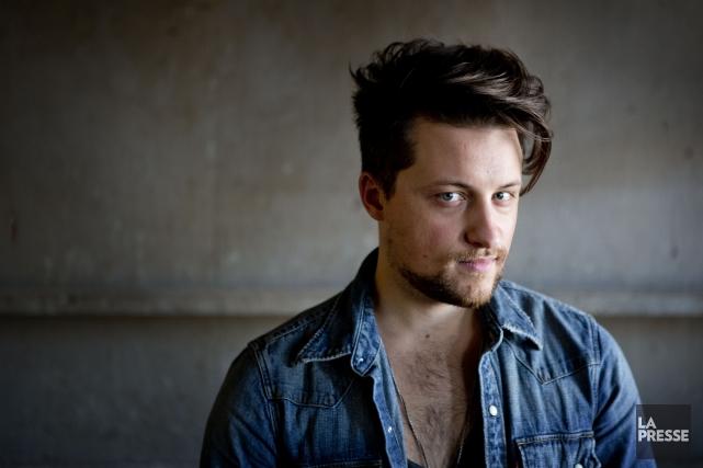 Le chanteur Jérôme Couture.... (PHOTO MARCO CAMPANOZZI, LA PRESSE)