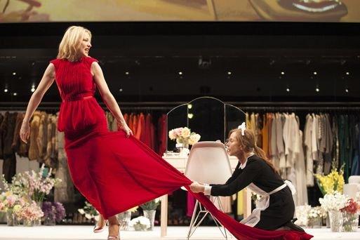 Cate Blanchett et Isabelle Huppert.... (Photo Lisa Tomasetti, Lincoln Center)