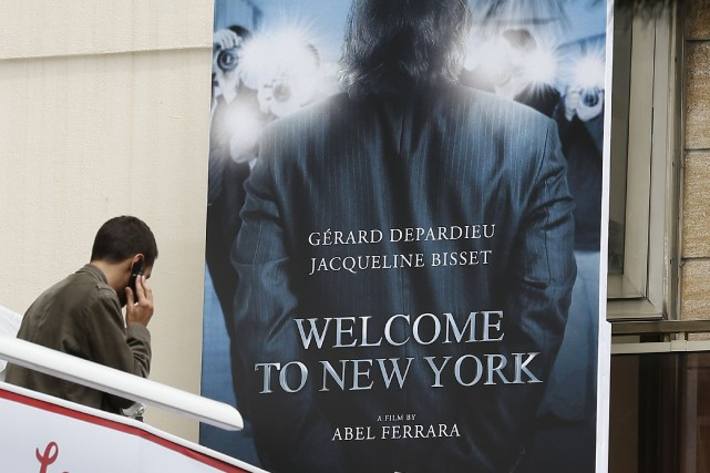 Le film Welcome to New York sera offertaux... (PHOTO VALERY HACHÉ, ARCHIVES AFP)