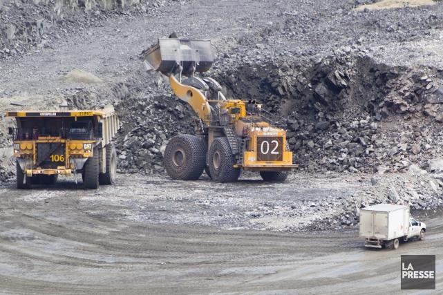 L'industrie minière au Québec veut panser les plaies du long débat sur les... (PHOTO IVANOH DEMERS, ARCHIVES LA PRESSE)